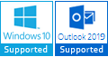 windows 10 outlook 2019